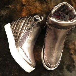 Steve Madden Loops Concealed Heel Wedge Sneaker